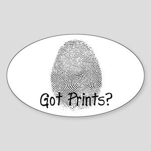 Got Prints? Big Oval Sticker