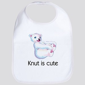 Knut is cute Bib