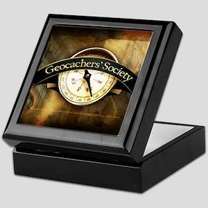 Geocachers' Society Keepsake Box