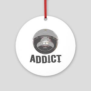 Roomba Addict Ornament (Round)