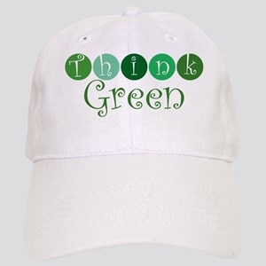 Think Green (circles) Cap