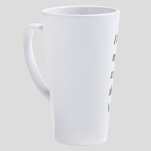 I Love my Wife, shes a Veteran 17 oz Latte Mug