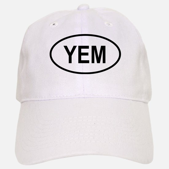 Yemen Oval Baseball Baseball Cap