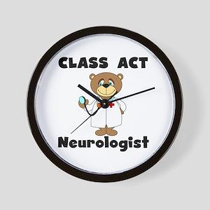 Class Act Neurologist Wall Clock