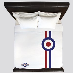 Designer Mod Target stripes t-shirt King Duvet
