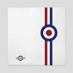 Designer Mod Target stripes t-shirt Queen Duvet
