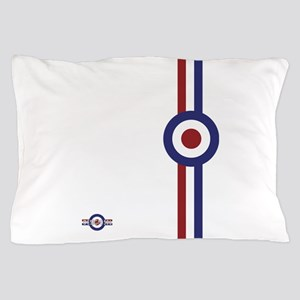 Designer Mod Target stripes t-shirt Pillow Case