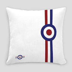 Designer Mod Target stripes t-shi Everyday Pillow