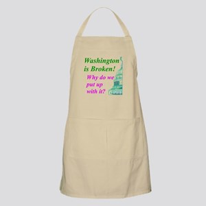 """Washington is Broken"" BBQ Apron"