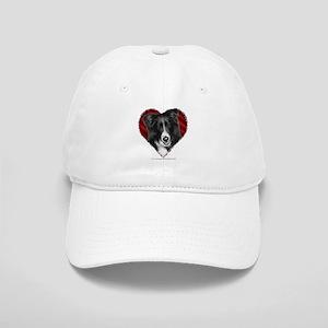 Border Collie Valentine Cap