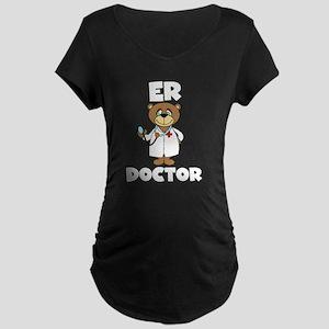 ER Doctor Maternity Dark T-Shirt