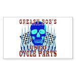 GREASY BOB Rectangle Sticker