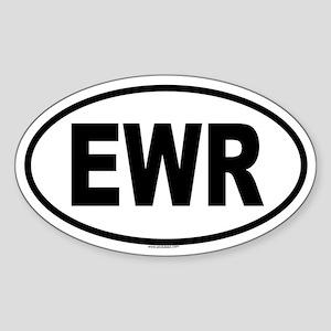 EWR Oval Sticker