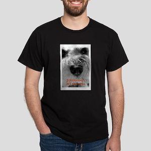 Schnauzer Nose Dark T-Shirt