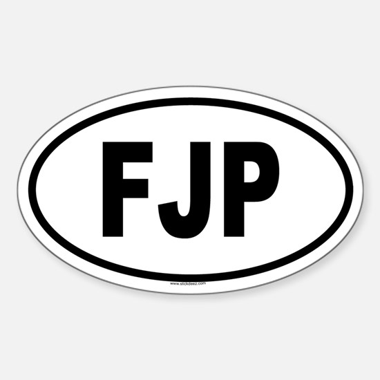 FJP Oval Decal