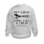 JOES GARAGE Kids Sweatshirt