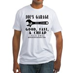 JOES GARAGE Fitted T-Shirt