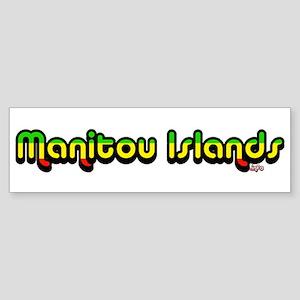 manitouislands.info Bumper Sticker