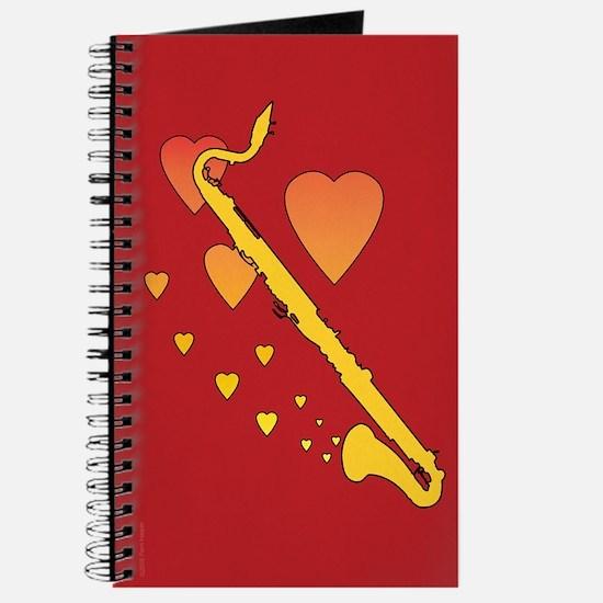 Bass Clarinet Heartsong Journal