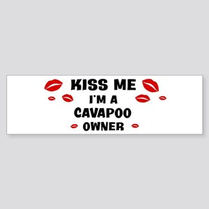 Kiss Me: Cavapoo owner Bumper Sticker