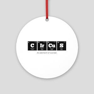 Periodic Elements: CIrCuS Round Ornament