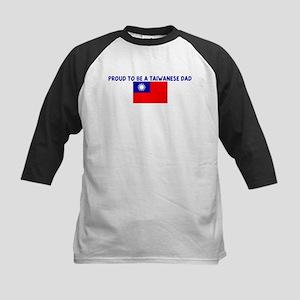 PROUD TO BE A TAIWANESE DAD Kids Baseball Jersey