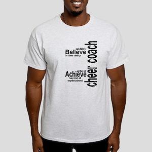 """Cheer Coach """"believe"""" Light T-Shirt"""