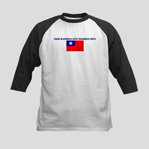 MADE IN AMERICA WITH TAIWANES Kids Baseball Jersey