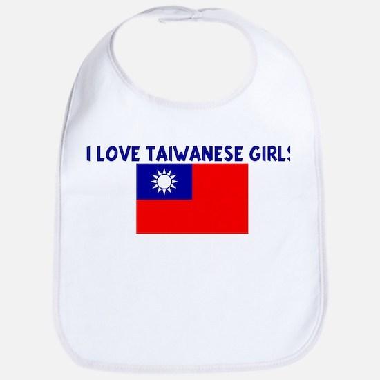I LOVE TAIWANESE GIRLS Bib