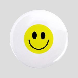 "Happy Face 3.5"" Button"