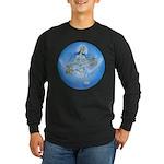 Saraswati Long Sleeve Dark T-Shirt