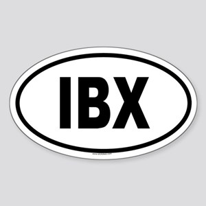IBX Oval Sticker
