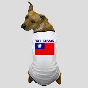 FREE TAIWAN Dog T-Shirt
