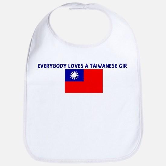 EVERYBODY LOVES A TAIWANESE G Bib