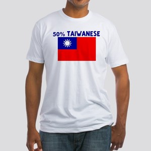 50 PERCENT TAIWANESE Fitted T-Shirt