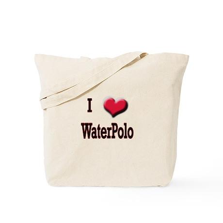 I Love (Heart) Water Polo Tote Bag