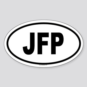 JFP Oval Sticker