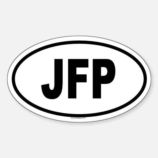 JFP Oval Decal
