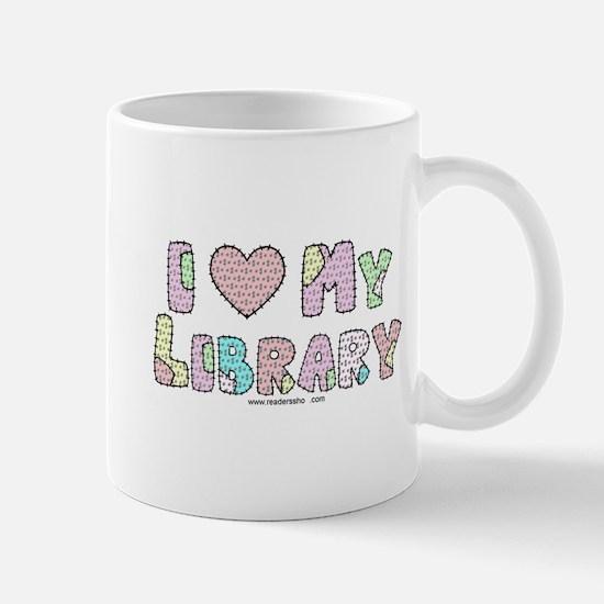 I (heart) My Library Mug