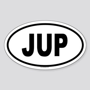 JUP Oval Sticker