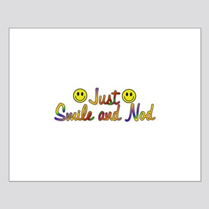 Smile And Nod Small Poster
