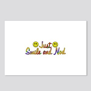 Smile And Nod Postcards (Package of 8)