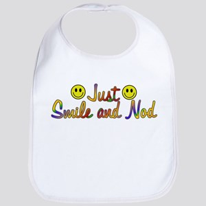 Smile And Nod Bib
