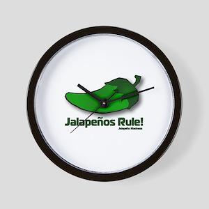The Jalapeno Wall Clock