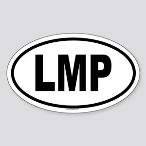 LMP Oval Sticker