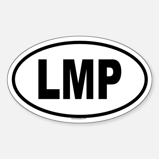 LMP Oval Decal