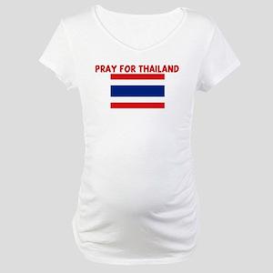PRAY FOR THAILAND Maternity T-Shirt