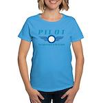 Pilot The Highest Form of Lif Women's Dark T-Shirt