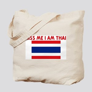 KISS ME I AM THAI Tote Bag