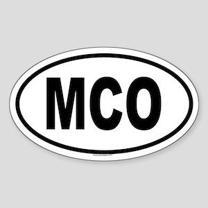 MCO Oval Sticker